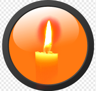 Click to light a candle.